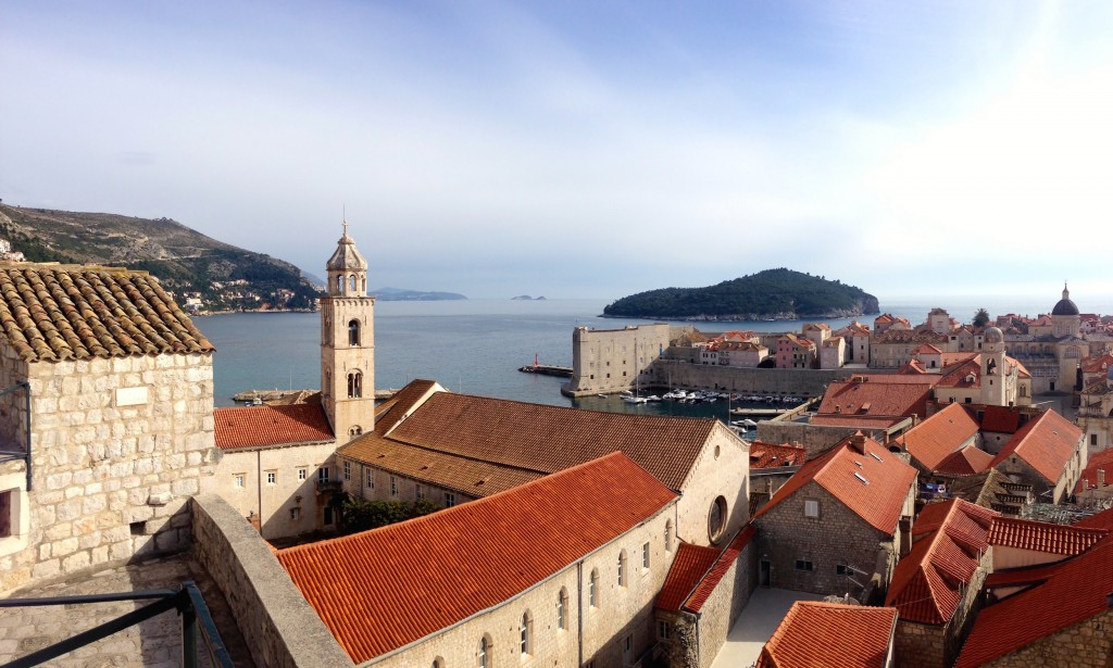 Amazing views from Dubrovnik's Wall.