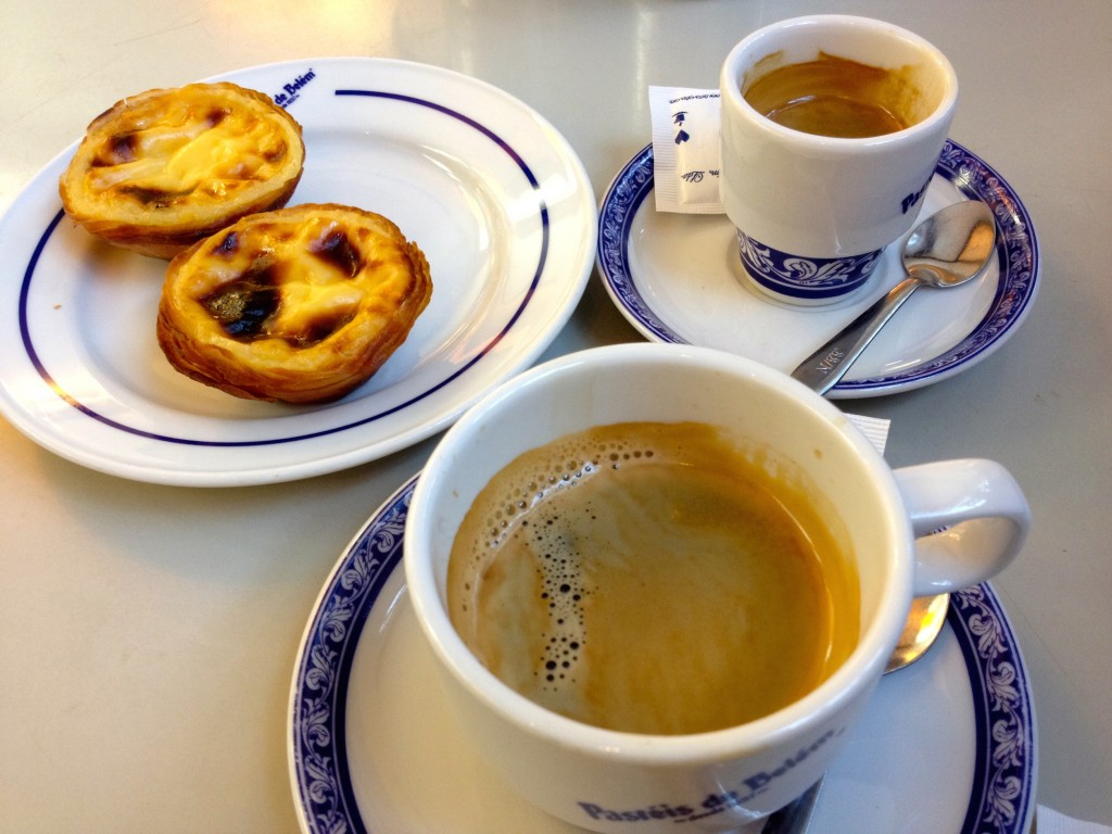 Coffee and pastries - yum.