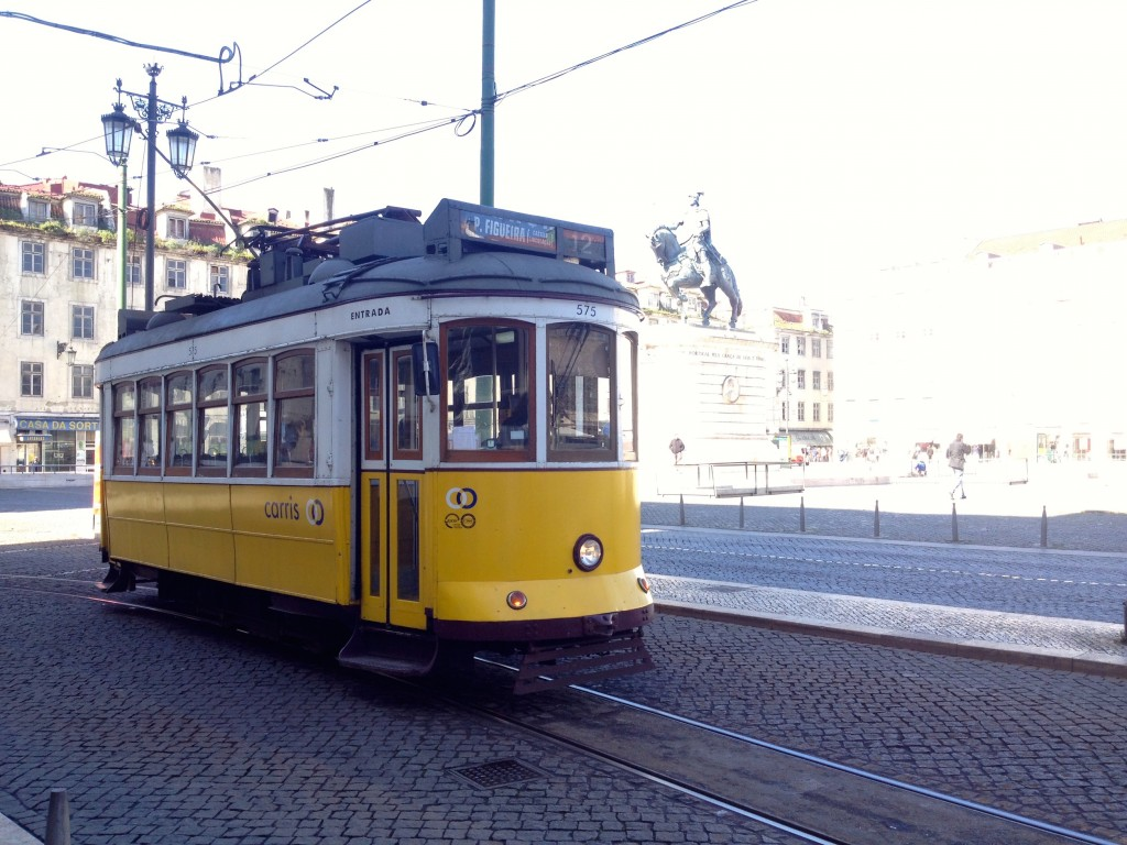 One of Lisbon's Iconic Trams!