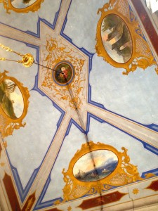At least it had this really neat frescoed ceiling in the bedroom!