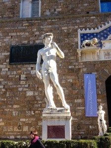 Another copy of Michelangelo's David Statue.