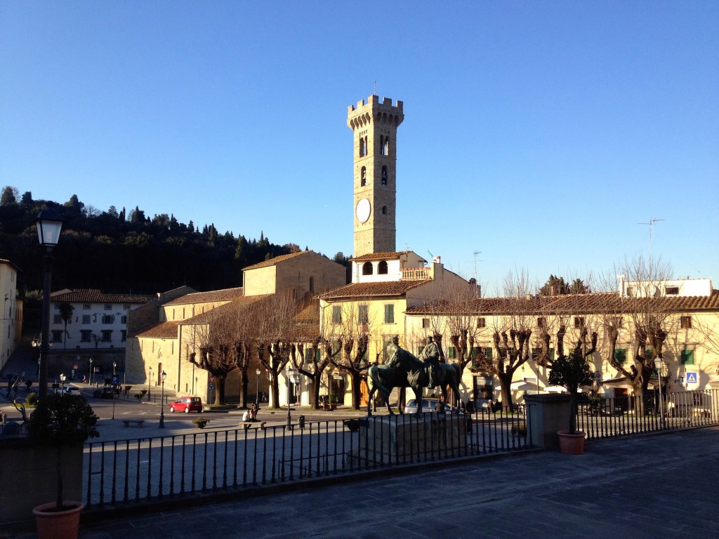 Downtown Fiesole.