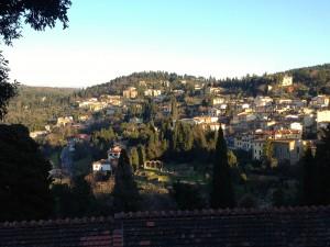 The cute little town of Fiesole.