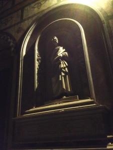 The Interior of San Miniato Church.