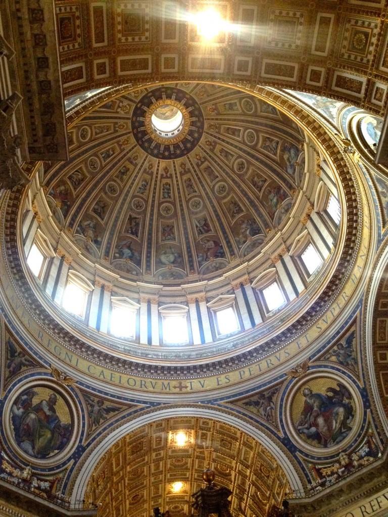 The impressive dome!