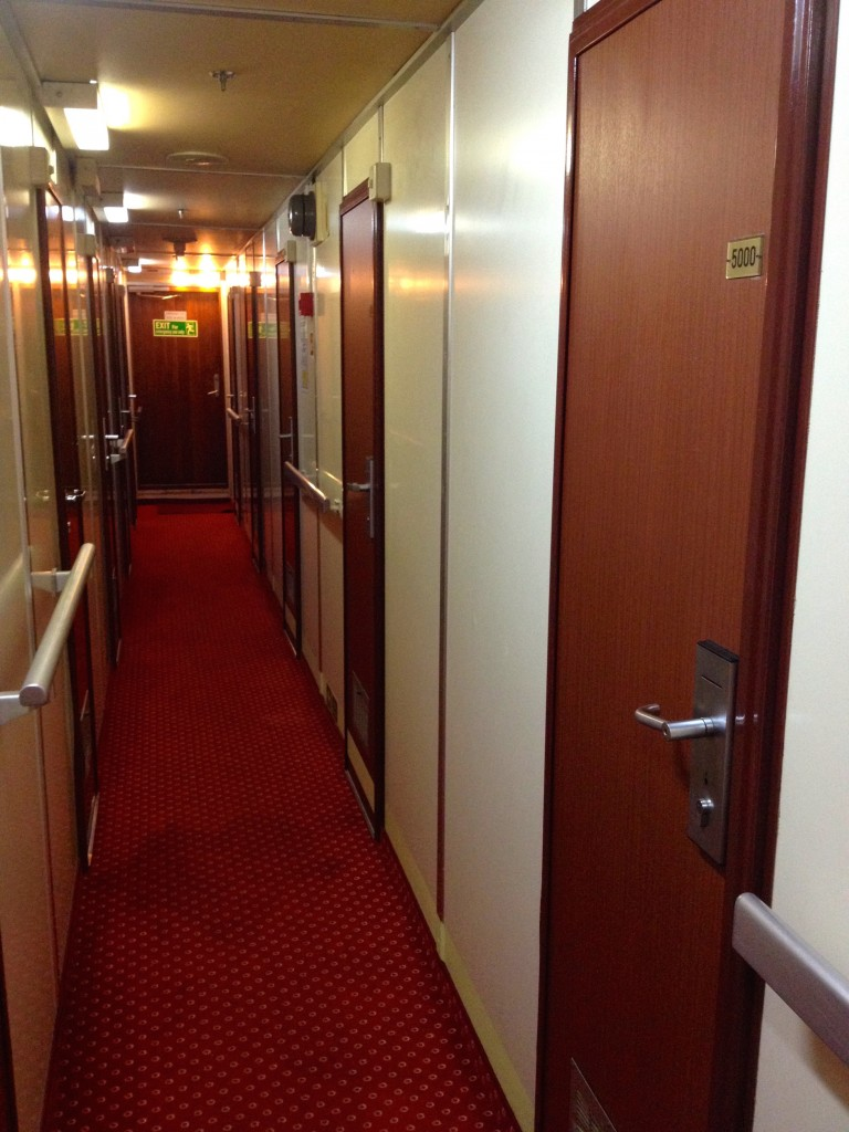 Cabins onboard our Jadrolinija Ferry