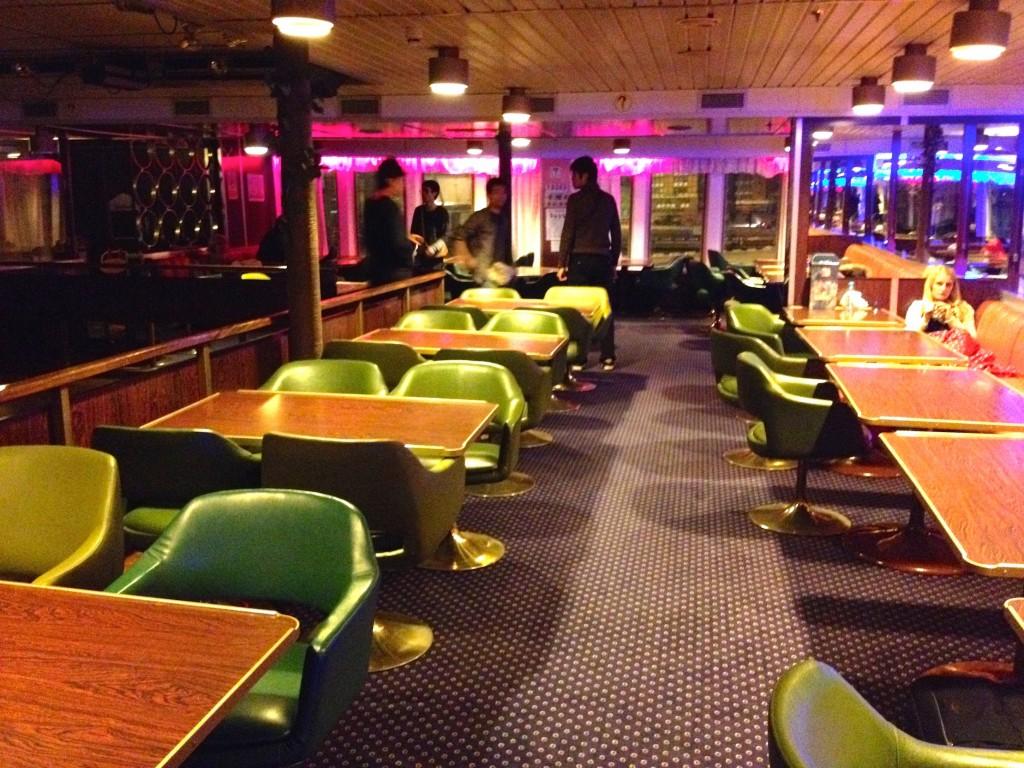 "The Lounge on our Jadrolinija Ferry, the ""Marko Polo""."