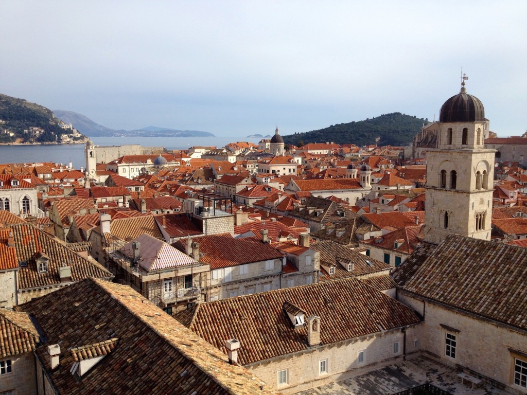 Dubrovnik has no shortage of church towers.
