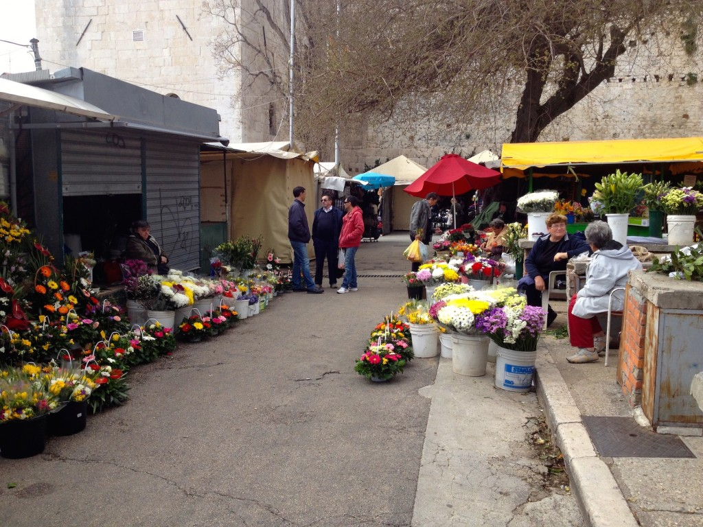 Flower Vendors at the Outdoor Market