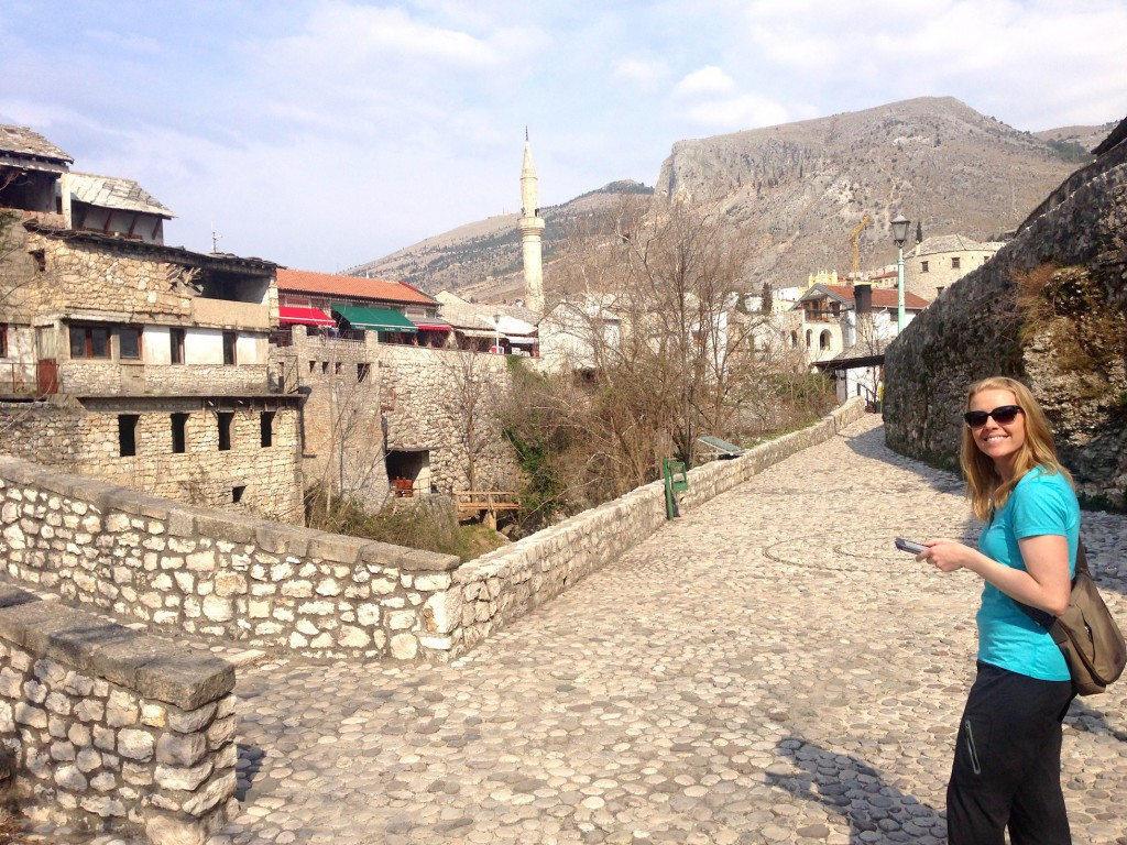Armed with a self-guided walking tour on my Kindle, we explored Mostar.