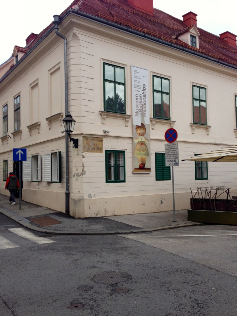 The Museum of Broken Relationships in Zagreb.