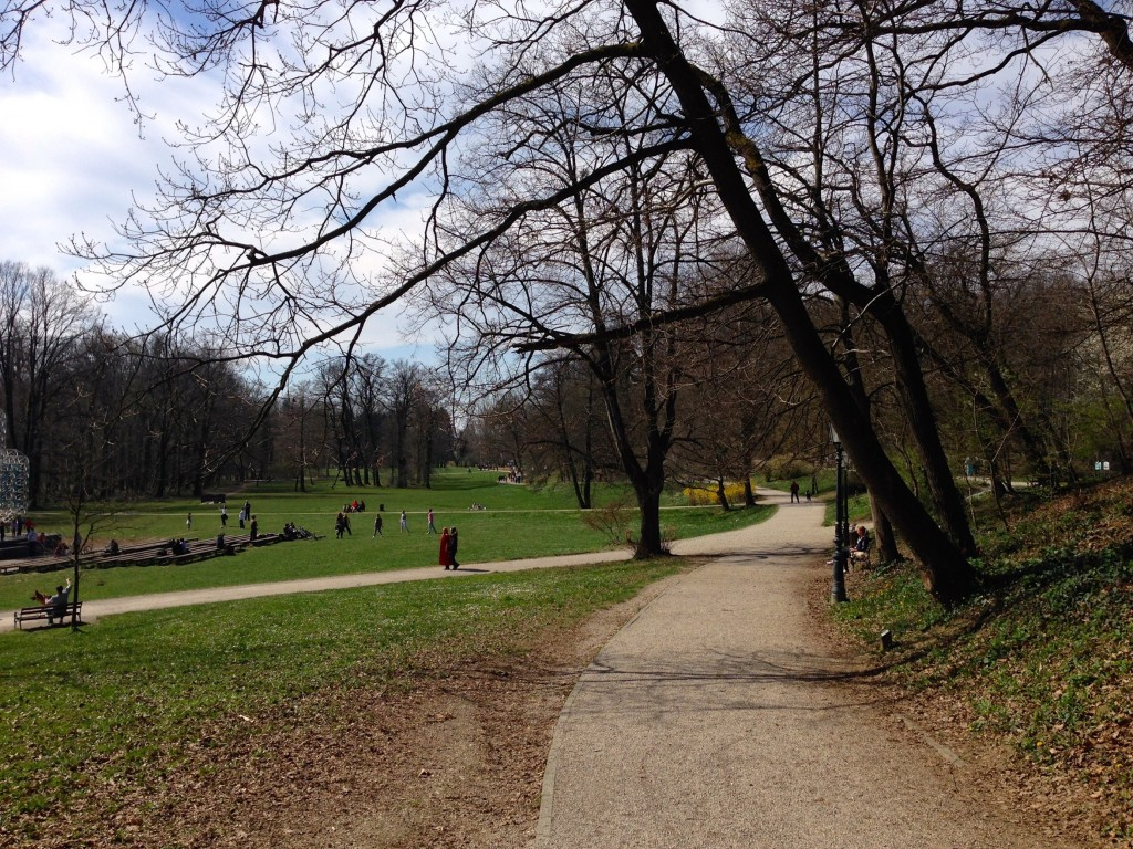 Beautiful Maksimir Park.