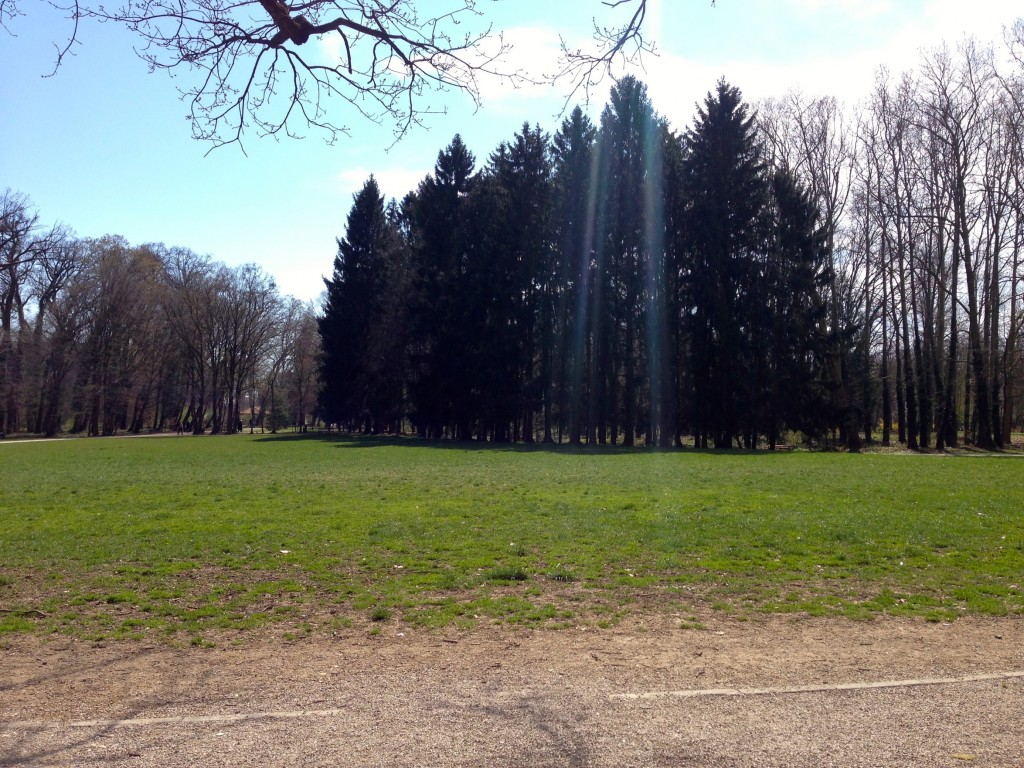 Maksimir Park has a seemingly endless amount of trails to choose from.