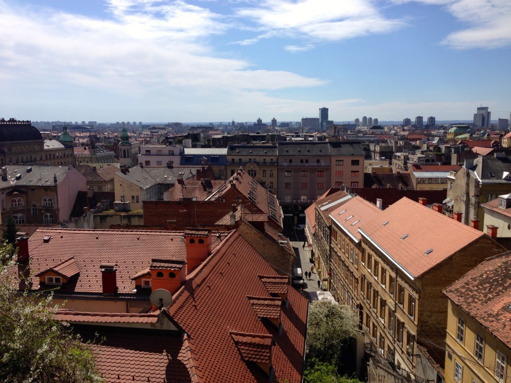 The Beautiful City of Zagreb, Croatia.
