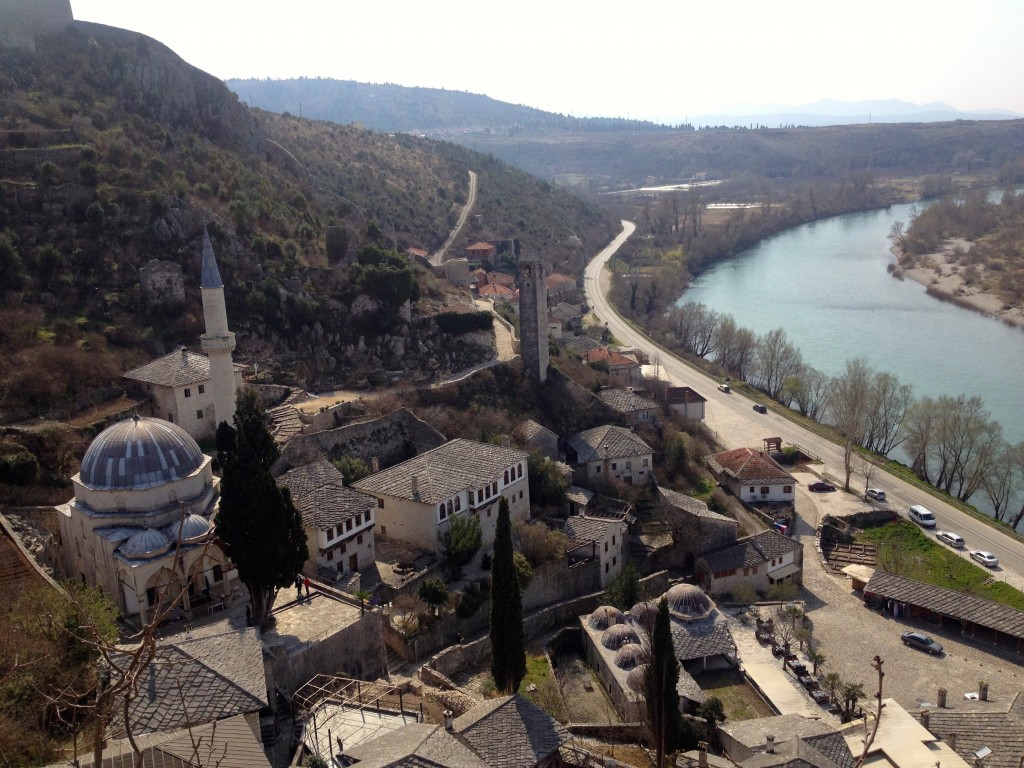 Počitelj, a fun stopover en route to Mostar.