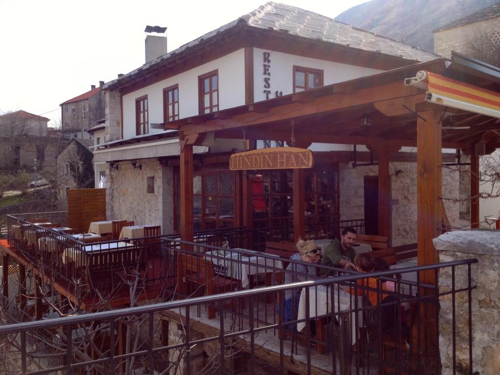 Hindin Han Restaurant in Mostar.