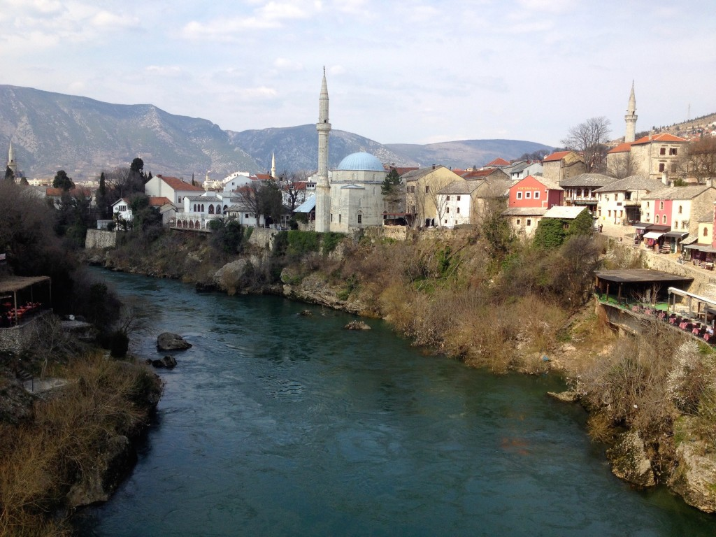 The Beautiful City of Mostar, in Bosnia and Herzegovina.