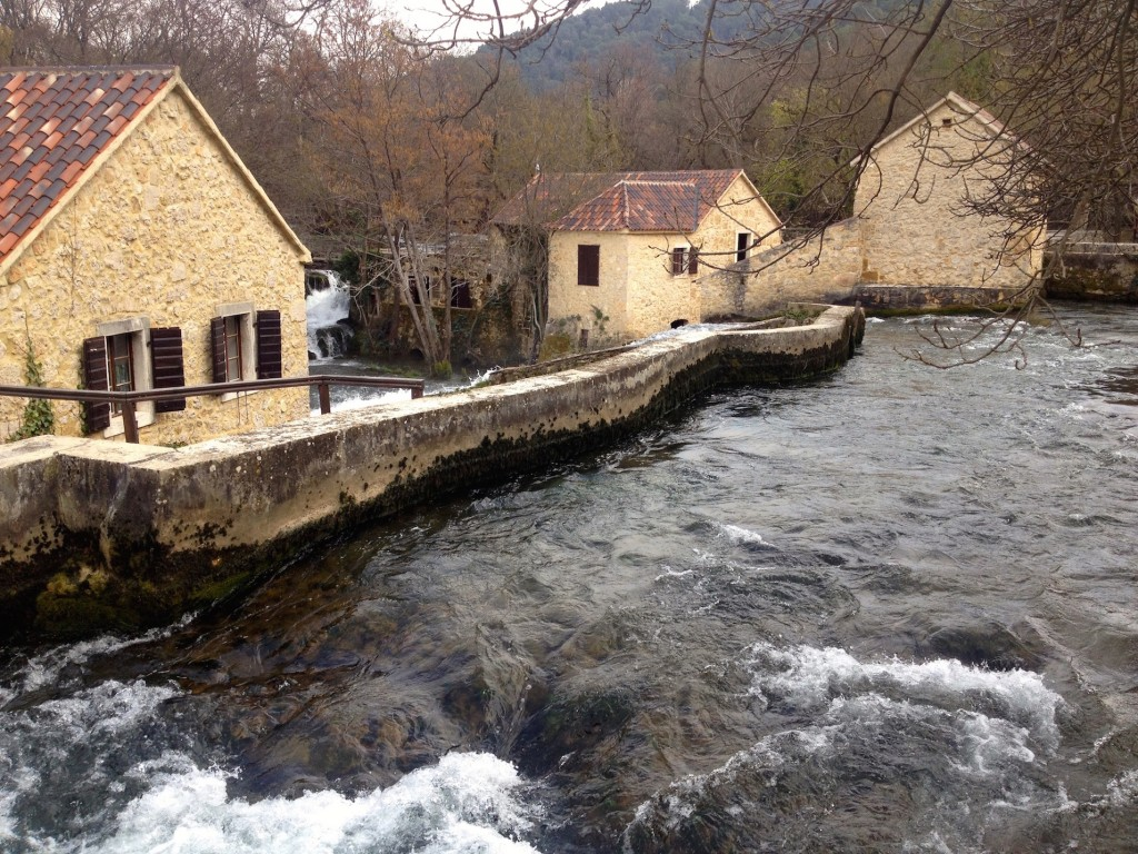 The Ethno Village exhibits are all built right into the Krka river. At the very least, it's fun to look at.