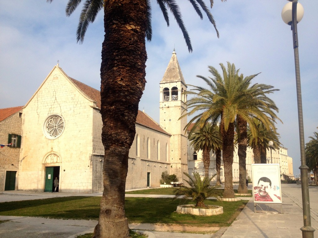 A Beautiful church in Trogir, Croatia.