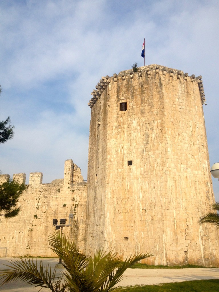 Trogir's Fortress, now primarily used for musical performances.