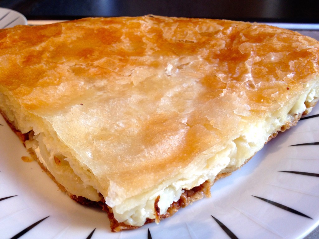 """Burek Sir"", or Cheese Burek. Definitely yummy."