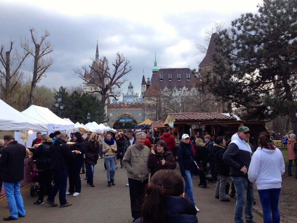 The wonderful Easter Festival in City Park.