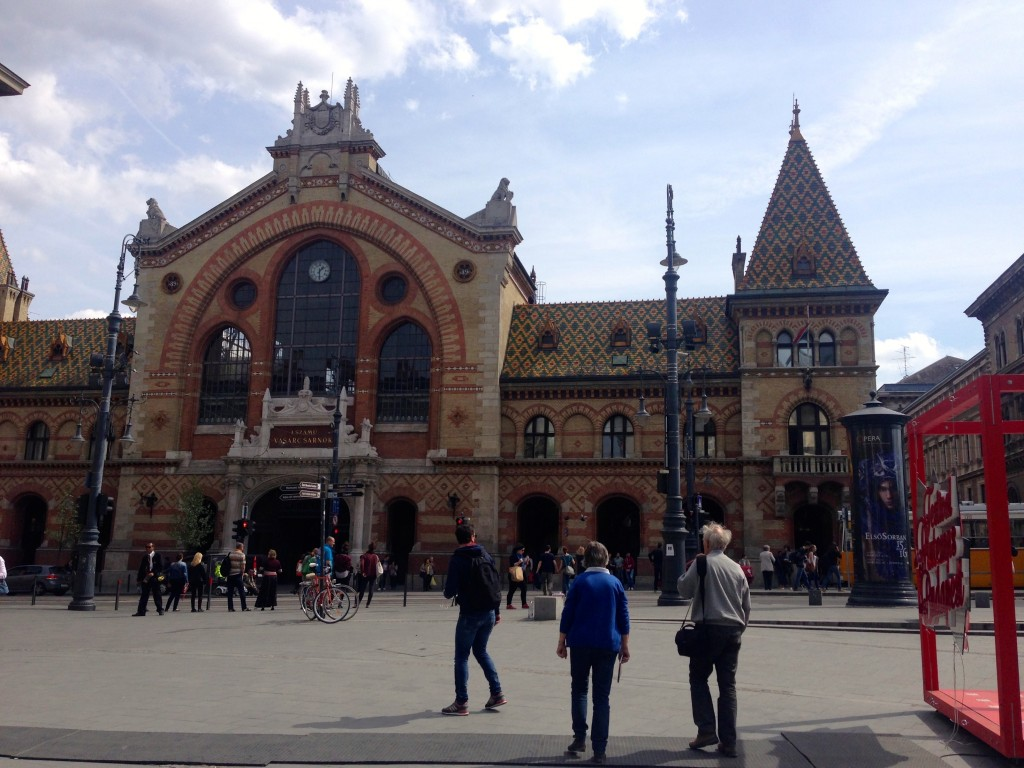 Budapest's Great Market Hall (Nagyvásárcsarnok)