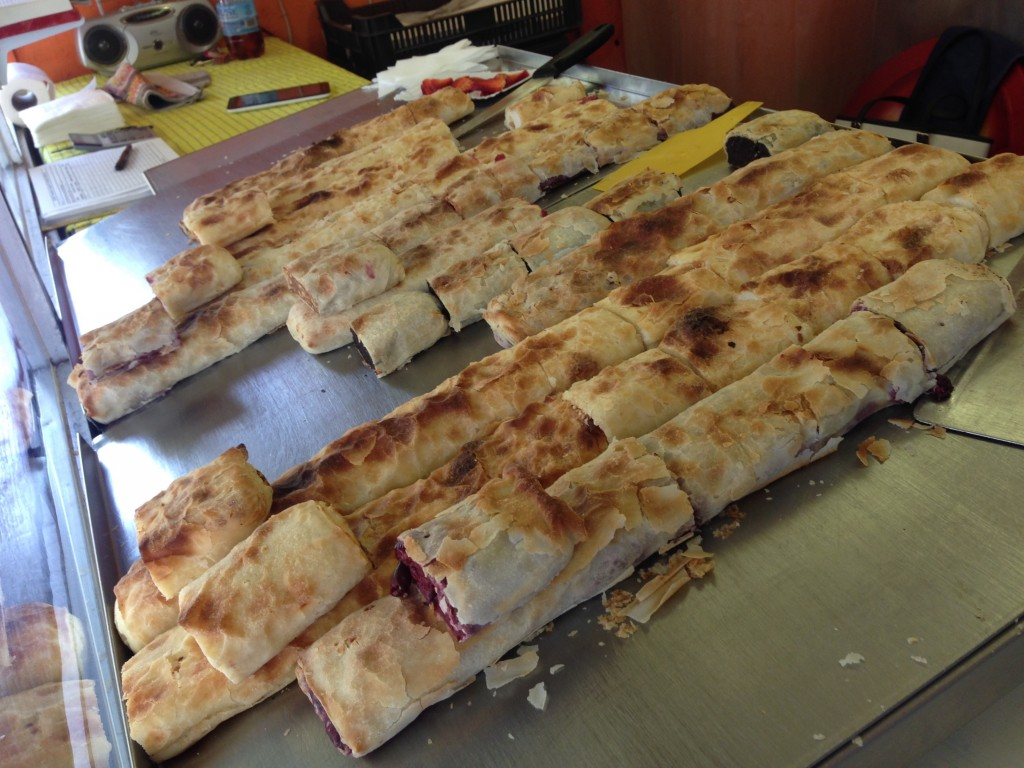 So many strudels yum!