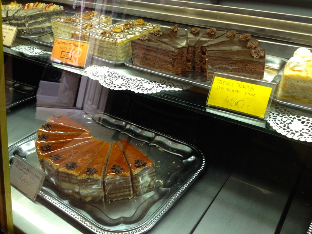 They even have a Dobos Torte. We didn't try it, but I bet it's awesome.