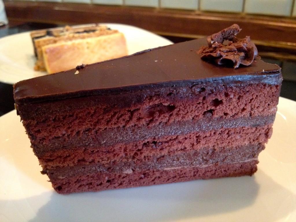 Fröhlich's Chocolate Torte Cake.