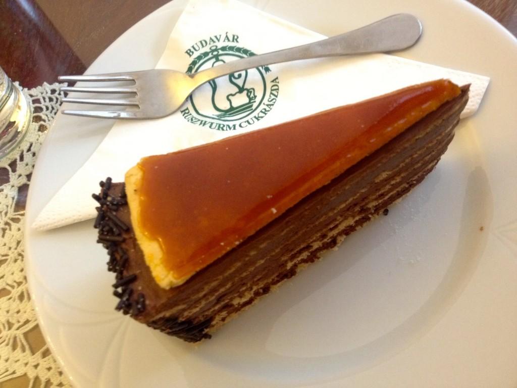 Ruszwurm's Dobos Torte