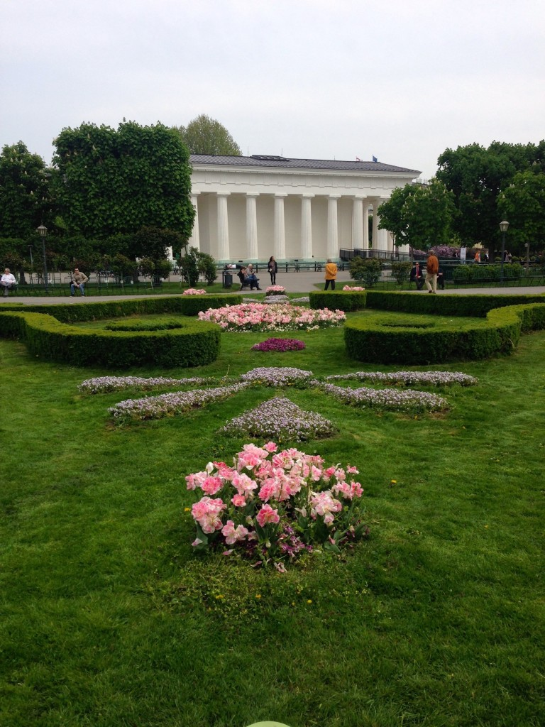 The gorgeous Volksgarten in Vienna. Spring is such a fun time to be here!