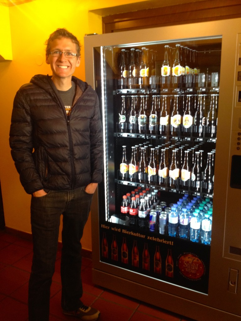 When you walk in, you'll see their beer vending machine and you'll know you're in the right spot.
