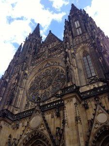 The St. Vitus Cathedral. Absolutely breathtaking.