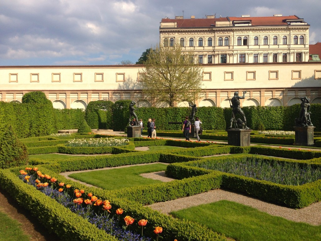 The beautiful Wallenstein Gardens.