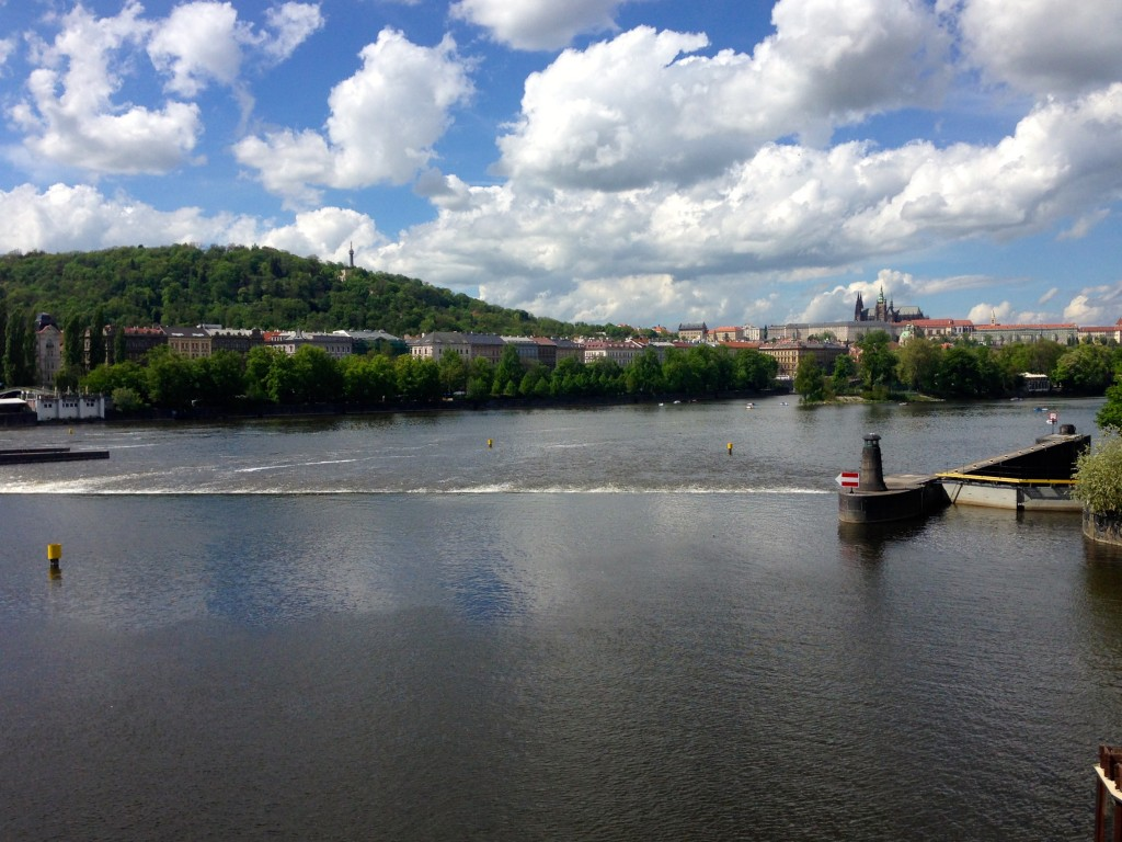 Prague's beautiful Vltava River.