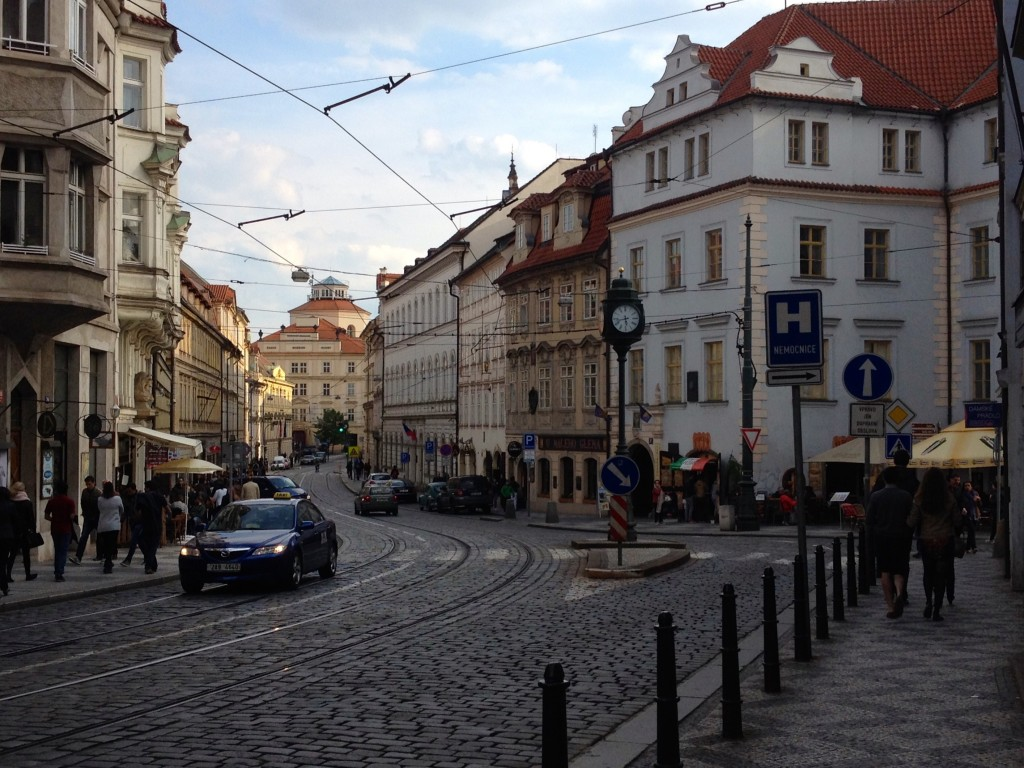 Beautiful Streets in Prague.