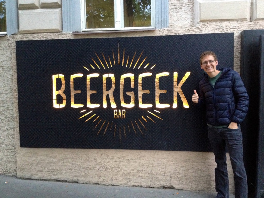 Thumbs up for Beer Geek.